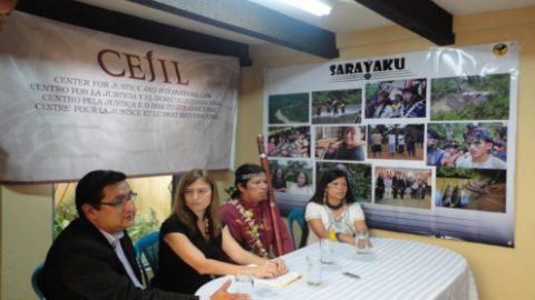 El Pueblo Kichwa de Sarayaku denunciara publicamente al Ecuador por la violación a sus derechos
