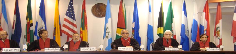 Jueces de la Corte Interamericana de Derechos Humanos