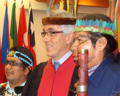 La delegación de la corte visitara a Sarayaku