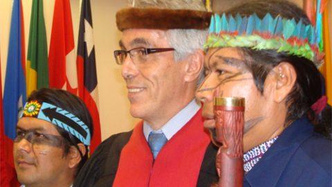 La delegacion de la Corte  Interamericana visitara  a Sarayaku