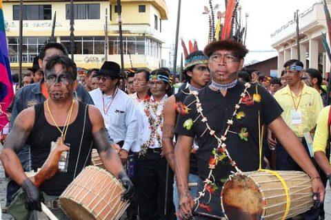 Sarayaku Celebra su Uyanza de Pachamama