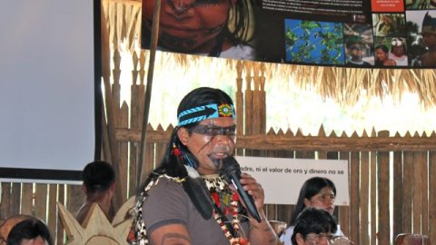 Pronunciamiento Nacionalidades en Sarayaku