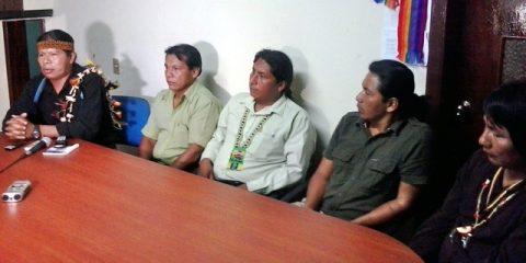 Secretaria de Hidrocarburos ingresa sin autorización a territorios amazónicos