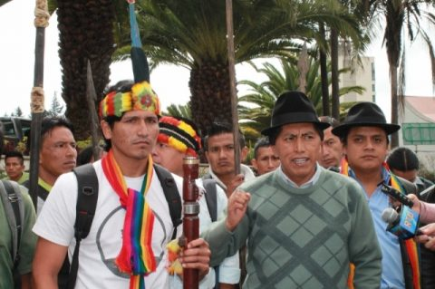 "Rechazo a la xi ronda petrolera en Quito ""se está negociando la Vida"""