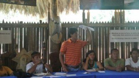 Sarayaku   convoca a una asamblea extraordinario del pueblo,  para analizar  la consulta pre legislativa al proyecto de ley Orgánica  de recurso hidros, usos y aprovechamiento  del agua.