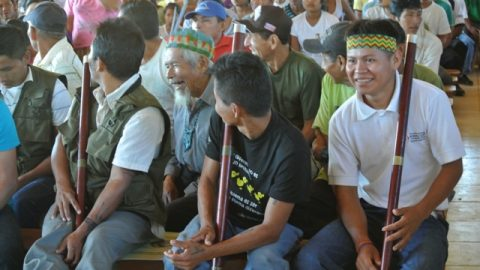 VI Congreso del Pueblo Originario Kichwa de Sarayaku en su tercer día