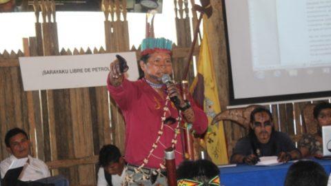 SARAYAKU: Jatun Congreso ratifica a Consejo de Gobierno