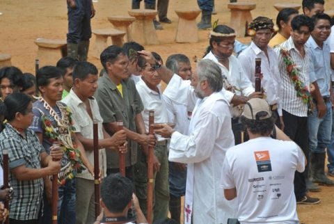 La Fiesta de la Pachamama termina con la posesión de los dirigentes reelectos