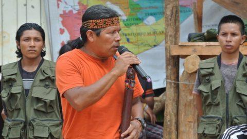 Sarayaku da el inicio de su celebración Pachamama uyanza