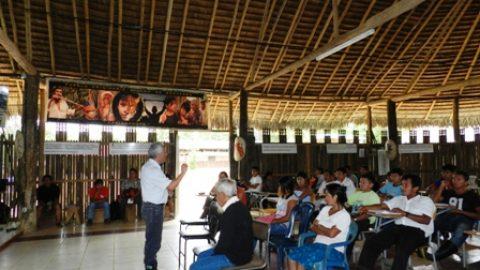 Evaluación  de la Escuela de formación en recursos Amazónicos.