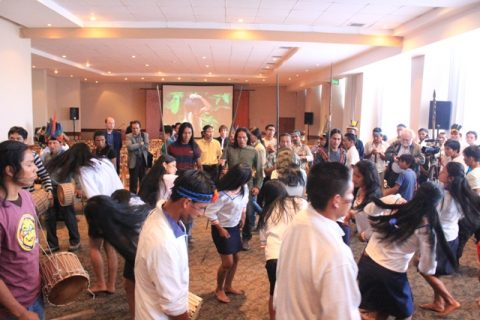 "Al tiempo del ""tiam"" Sarayaku celebra I aniversario de la sentencia de la Corte IDH"