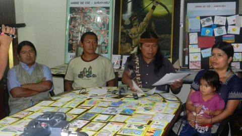 Pronunciamiento de Sarayaku frente a las expresiones ofensivas vertidas en su contra por el Presidente del Ecuador.