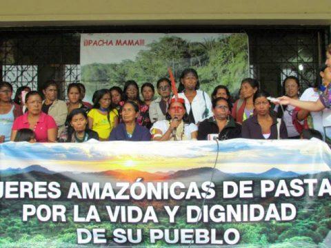 Pronunciamiento de Mujeres Amazónicas Frente a respuesta de Asamblea Nacional