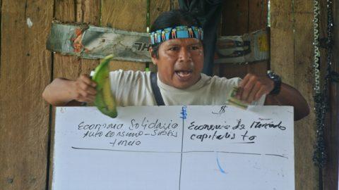 Sarayaku refuerza su capacidad organizativa y fortalece su unidad.