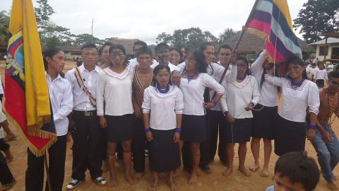 Convocatoria solidaria en la lucha de Sarayaku para fortalecer talentos humanos….