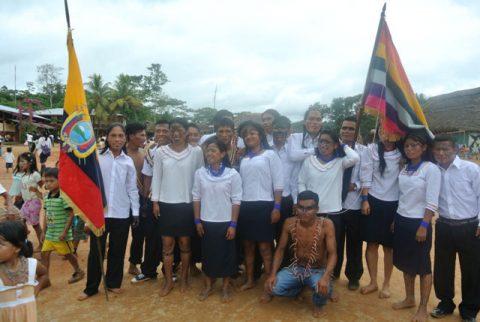 Sarayaku propone becas para fomentar el talento de jóvenes miembros de su pueblo
