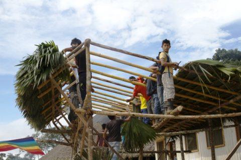 Sarayaku  inicia sus preparativos, para celebrar la Pachamama,