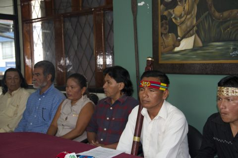 Al cumplirse 2 años de la sentencia emitido por la Corte IDH a favor del pueblo de Sarayaku.
