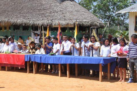 Sarayaku perdona al Estado Ecuatoriano