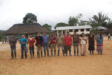 Agradecimiento a la Pachamama por la Fiesta Tradicional de Sarayaku