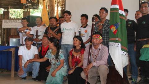 Asamblea General Ordinaria de Sarayaku implusa campaña Kapari