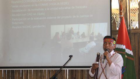 Pronunciamiento del Pueblo Originario Kichwa de Sarayaku en su séptima asamblea general ordinaria por el Sumak Kawsay.
