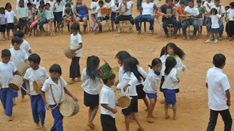 Sarayaku Inicia con los preparativos para la Pachamama Raymi