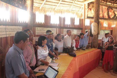 Asamblea Ordinaria del pueblo de Sarayaku.