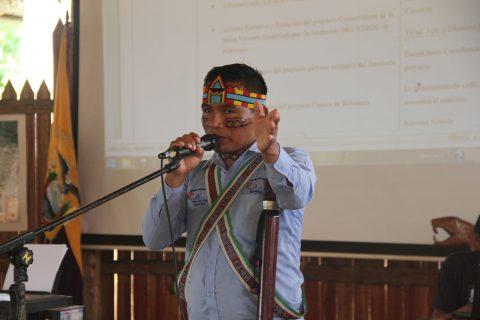 El Pueblo Originario Kichwa de Sarayaku reunido en la casa del MEDIO DIA en su Asamblea General Ordinaria los días 14, 15, 16 y 17 de enero del 2016,