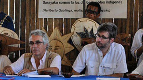 Sarayaku Vs Ecuador. Este 3 de mayo del 2016