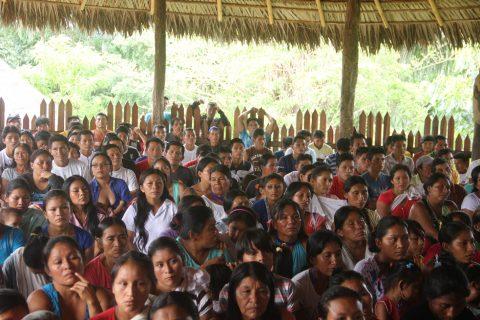 Asamblea Ordinaria del Pueblo Originario Kichwa de Sarayaku.