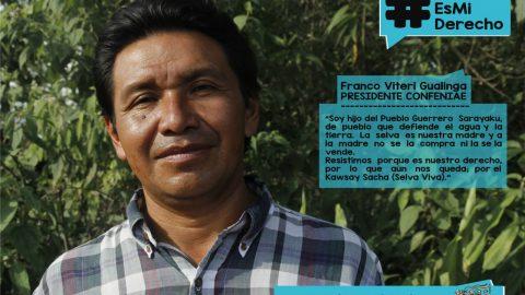 Hacia la unidad de Confeniae y la región Amazónica