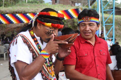 Así se vivió la alegria en el XV Congreso de la CONFENIAE  3 y 4 de Septiembre de 2016 en la ciudad de puyo