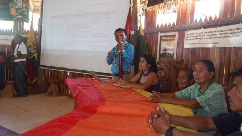 IMPORTANTE VISITA AL PUEBLO ORIGINARIO KICHWA DE SARAYAKU POR EL CONSEJO DE LA JUDICATURA