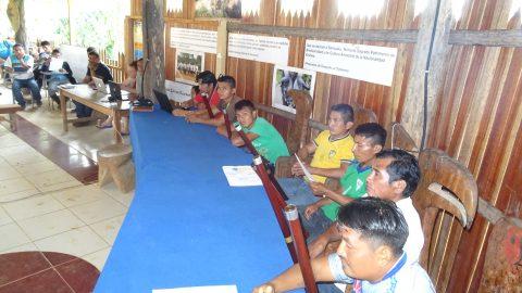 El Consejo de Gobierno de Tayjasaruta,  la comisión organizadora de la Asamblea  y el Pueblo de Sarayaku se prepara para la Gran Asamblea del Sumak Kawsak de Tayjasaruta.