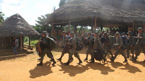 Sarayaku rechaza firmemente las acusaciones de secuestro 11 militar hecha por el presidente Rafael Correa