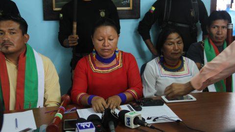El Pueblo Originario Kichwa de Sarayaku construyendo su propio plan de vida  y exigiendo derechos en torno a la vida.
