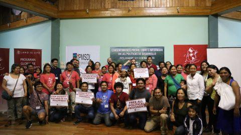 Declaración de apoyo internacional ala propuesta de Kawsak Sacha