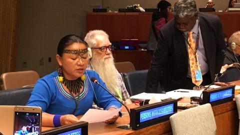 El pedido de la presidenta de Sarayaku a la ONU