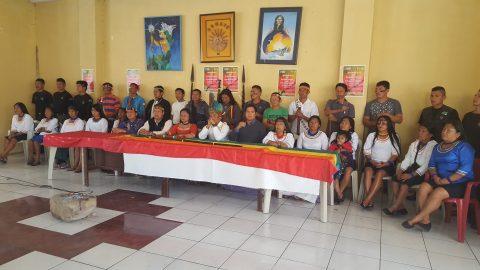 Pueblo Originario Kichwa Sarayaku – rueda de prensa: pre lanzamiento propuesta de vida alternativa KAWSAK SACHA