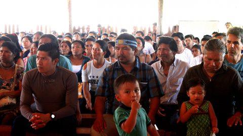 Asamblea General de Sarayaku Respalda la Reelección a la Coordinación de PACHAKUTIK Marlon Santi.