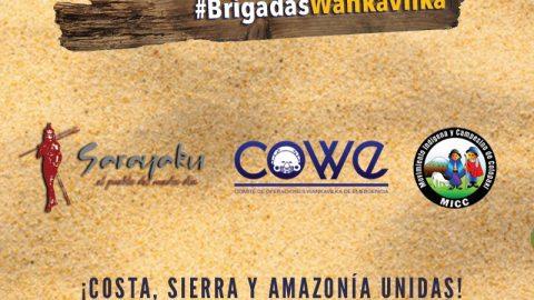 Mision Humanitaria: Costa, Sierra y Oriente Unidas!