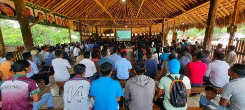 Declaración del Pueblo de Sarayaku por la explotación indiscriminada de la balsa en territorios indigenas.